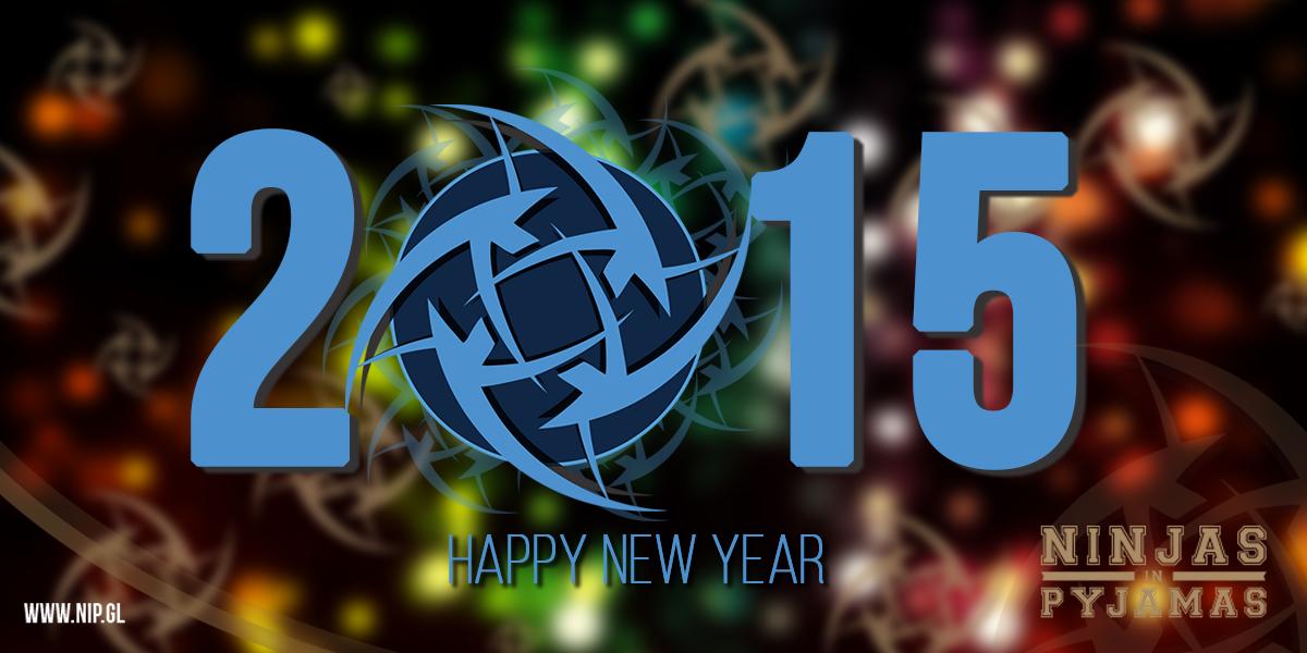 ninjas in pyjamas wishes you a happy new year