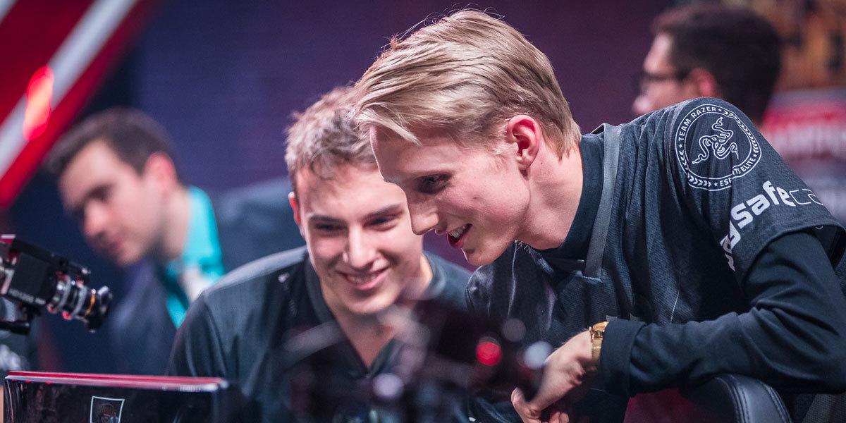 """Jesper """"Zven"""" Svenningsen och hans mannar i G2 Esports vinner ännu en split i LCS. Foto: Lolesports"""